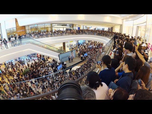 韓国のK-POPサイン会の流れ